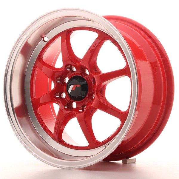 "Llanta JAPAN RACING TFII 7,5 X 15"" (4XMULTI) ET30 Red"